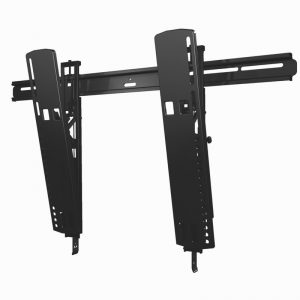 SANUS VLT16 Tilting Mount In Black On White Background