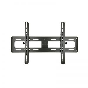 Sanus VMPL50A Tilting Wall Mount In Black On White Background