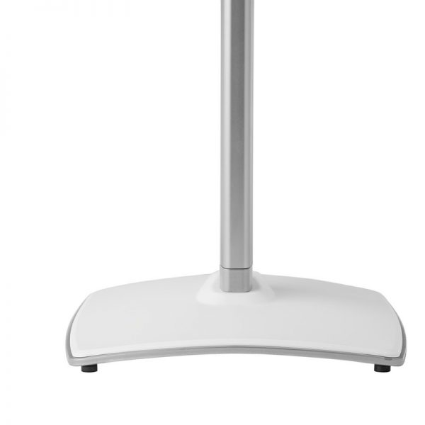 SANUS WSS51 Wireless Speaker Stand Designed For Sonos In White Foot Plate On White Background