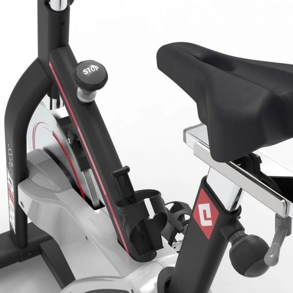 510Ic Diamondback Fitness Magnetic Indoor Cycle Trainer Seat Detail On White Background