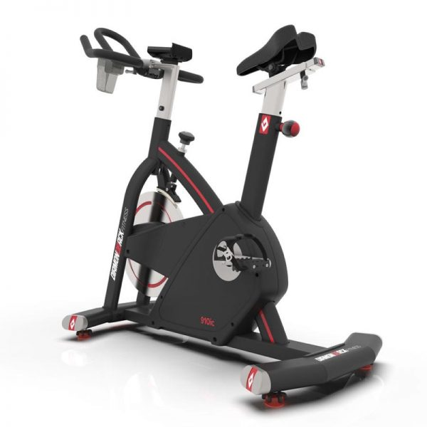 910Ic Diamondback Fitness Magnetic Indoor Cycle Trainer Back On White Background