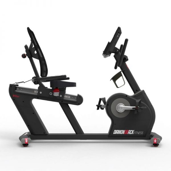 910Sr Diamondback Fitness Recumbent Magnetic Exercise Bike Right Side On White Background
