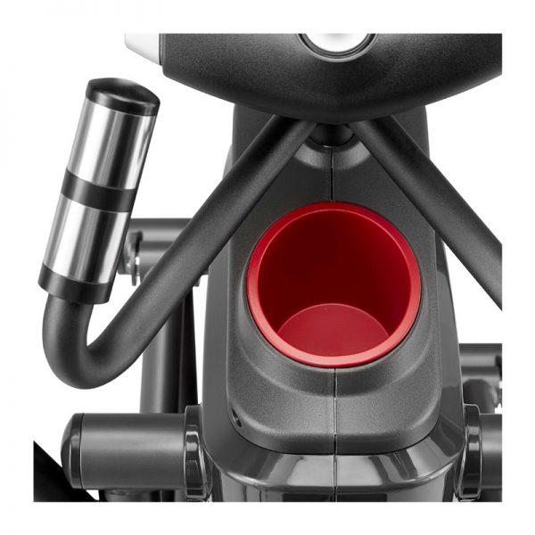 1060Ef Diamondback Fitness Adjustable Stride Elliptical Trainer Cupholder On White Background