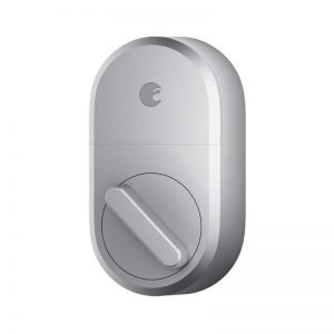 August Smart Lock On White Background