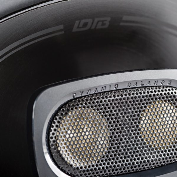 Polk DB692 Car Speaker Close Up On White Background