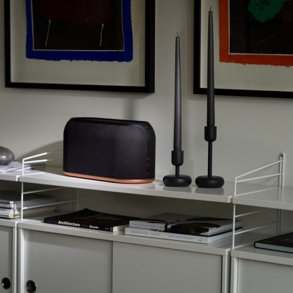 Jays s-Living Three In Graphite Black Lifestyle Photograph In Living Room