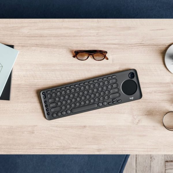 Logitech K600 Smart TV Keyboard Photograph