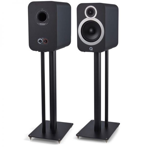 Q Acoustics 3030i Stereo Bookshelf Speaker Pair In Black