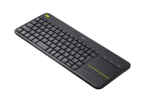 Logitech K400 Plus Wireless Touch Keyboard Photograph