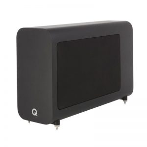 Q Acoustics 3060S Subwoofer In Carbon Black Photograph