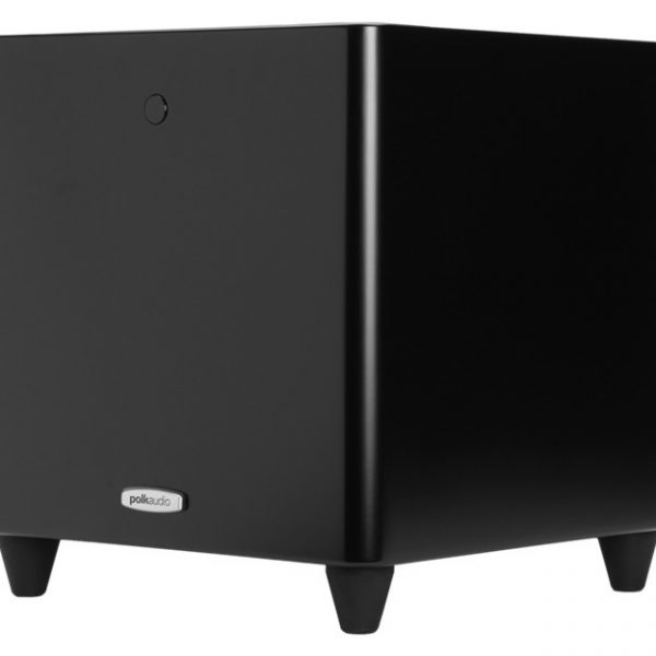 Polk Audio DSW PRO 440 In Black Side Photograph