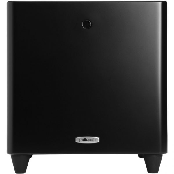Polk Audio DSW PRO 440 In Black Front Photograph