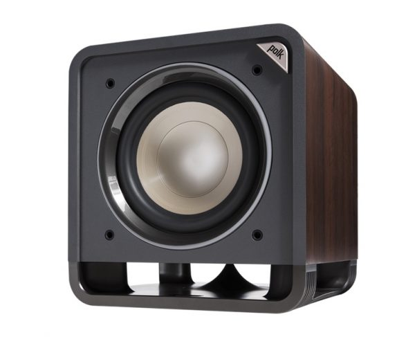 Polk Audio HTS 10 Subwoofer In Brown Walnut Without Grill Photograph
