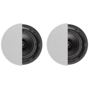 "Q Acoustics 6.5"" Round In-Ceiling Speaker Pair With Grille Photograph"