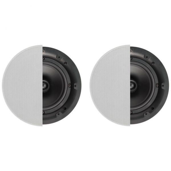 """Q Acoustics 6.5"""" Round In-Ceiling Speaker Pair With Grille Photograph"""