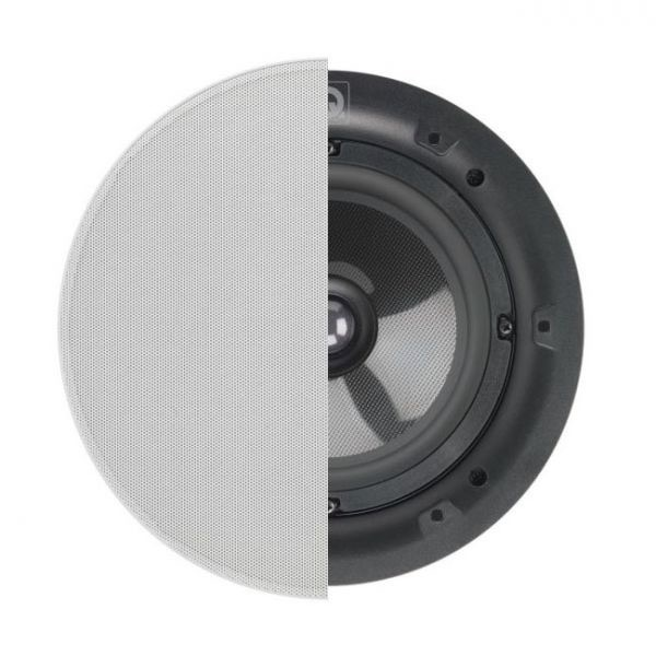"""Q Acoustics 6.5"""" PERFORMANCE Round In-Ceiling Speaker With Grille Photograph"""