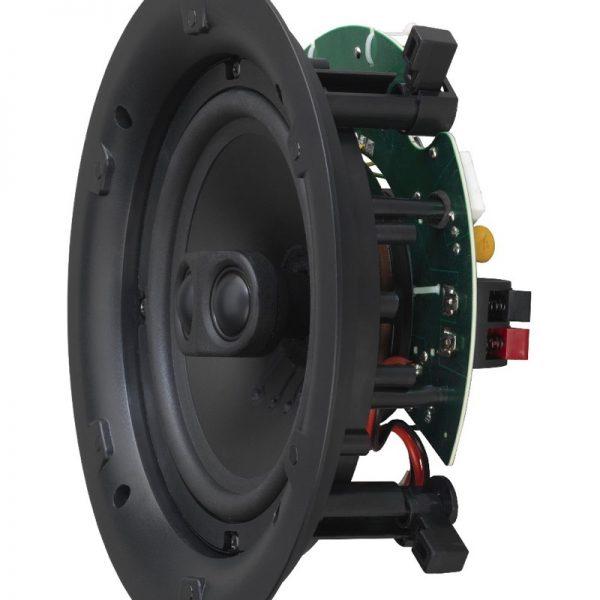 "Q Acoustics 6.5"" In-Ceiling Stereo Speaker Side Photograph"