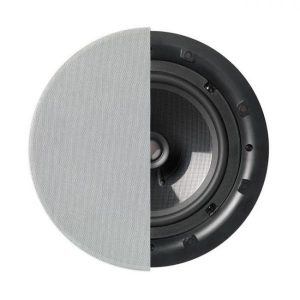 "Q Acoustics 8"" PERFORMANCE Round In-Ceiling Speaker With Grille Photograph"