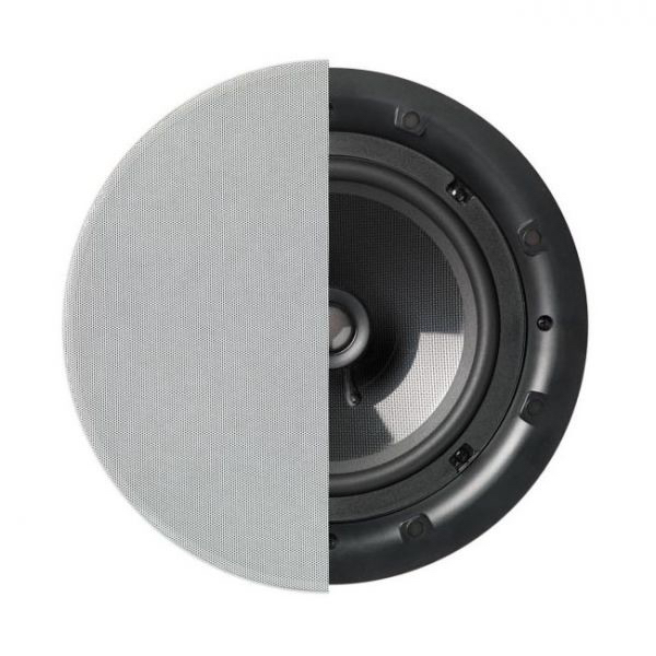 """Q Acoustics 8"""" PERFORMANCE Round In-Ceiling Speaker With Grille Photograph"""