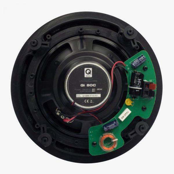 "Q Acoustics 8"" Round In-Ceiling Speaker Pair Rear Photograph"