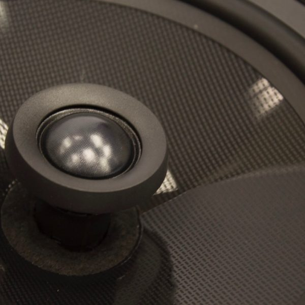 """Q Acoustics 8"""" PERFORMANCE Round In-Ceiling Speaker Close Up Photograph"""