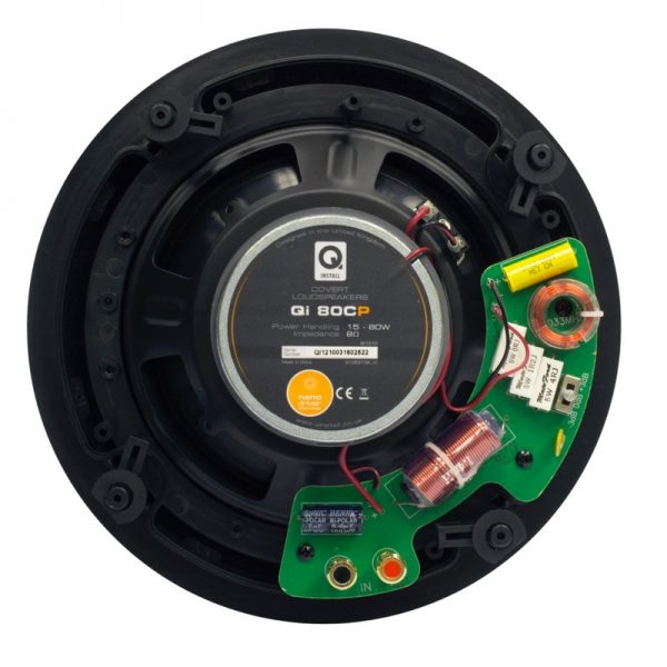 """Q Acoustics 8"""" PERFORMANCE Round In-Ceiling Speaker Rear Photograph"""