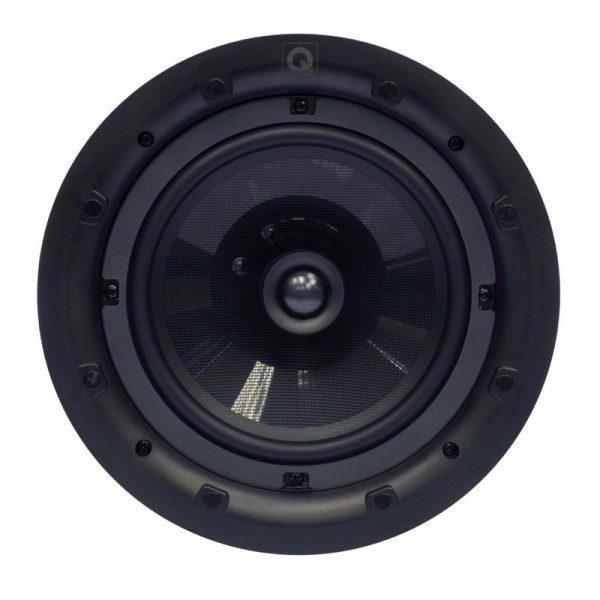 """Q Acoustics 8"""" PERFORMANCE Round In-Ceiling Speaker Front Photograph"""