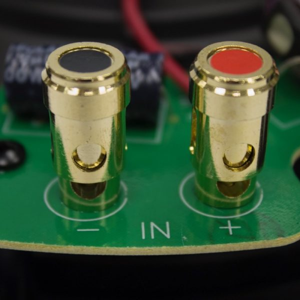 "Q Acoustics 6.5"" PERFORMANCE Round In-Ceiling Speaker Terminals Photograph"