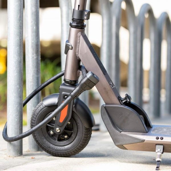 Razor E-Prime 111 Electric Scooter Locked Photograph