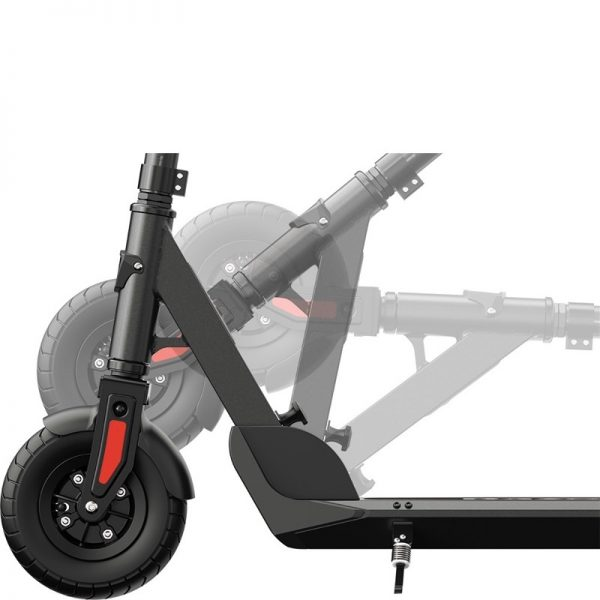 Razor E-Prime 111 Electric Scooter Folding On White Background