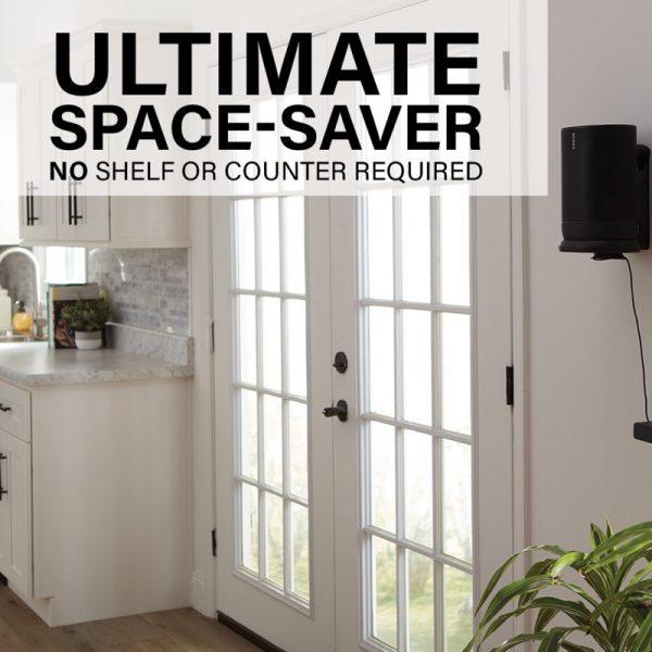 SANUS WSSMM1 Indoor & Outdoor Mount Designed For Sonos Move Speaker Ultimate Space saver Photograph