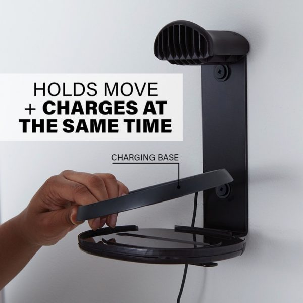 SANUS WSSMM1 Indoor & Outdoor Mount Designed For Sonos Move Speaker Holds And Charges At The Same Time Diagram