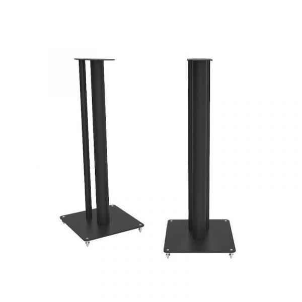 QA3102 Speaker Stand In Textured Black Satin