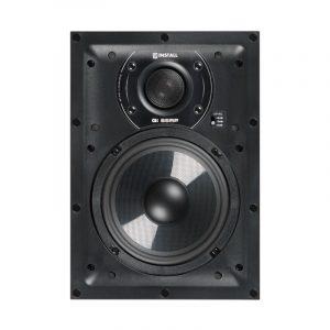 """Q Acoustics QI65RP Speaker 6.5"""" In-Wall Speaker On White Background"""